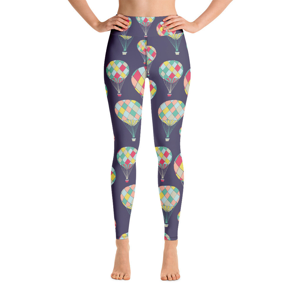 Hot Balloon Full Printed Yoga Leggings