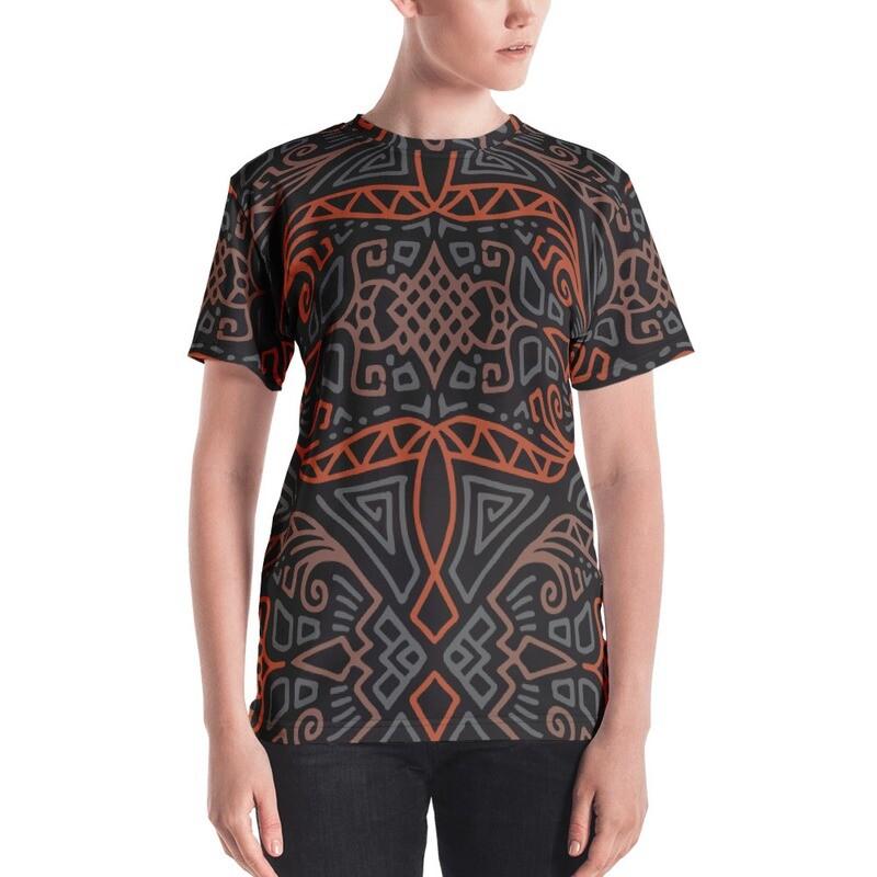 Woli Full Printed Women's T-shirt