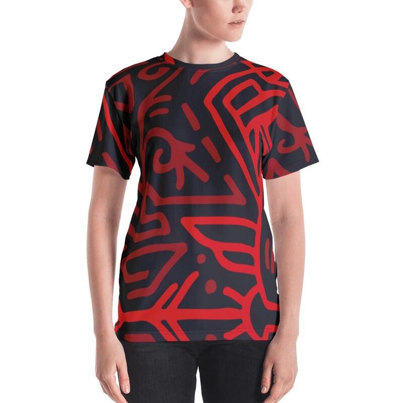 Musi Full Printed Women's T-shirt