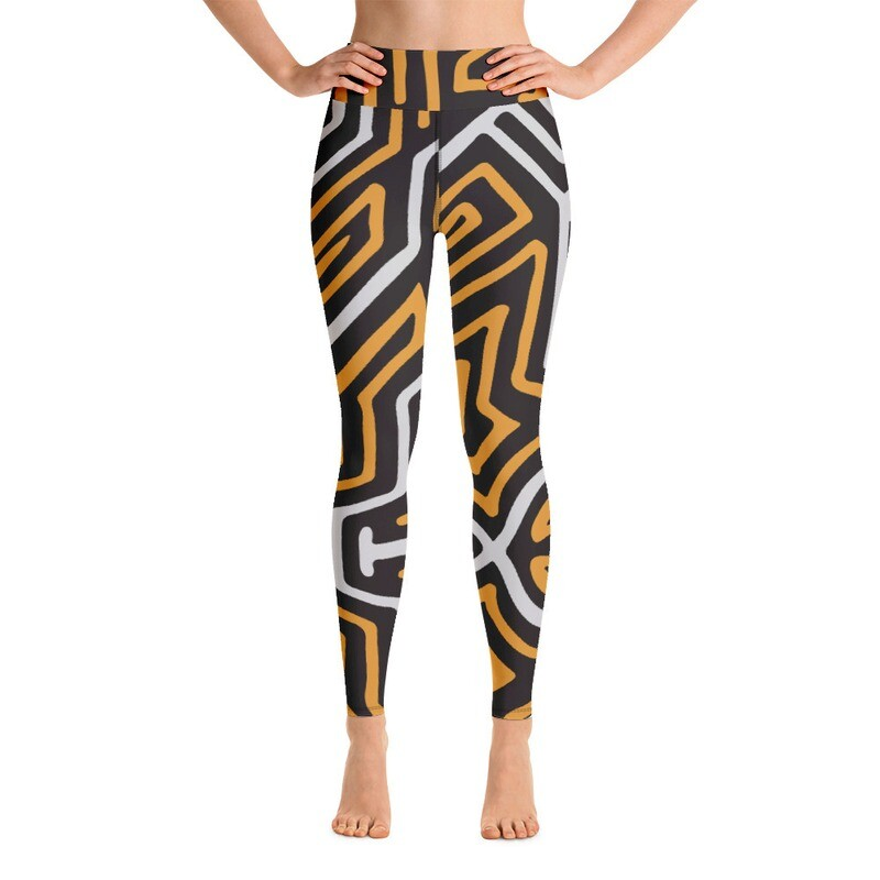 Mula Full Printed Women's Yoga Leggings