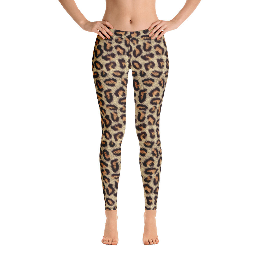 Cheetah Full Printed Women's Leggings
