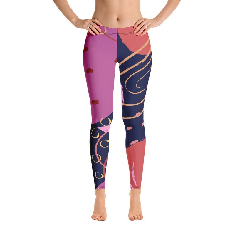 Ki Full Pirnted Women's Leggings