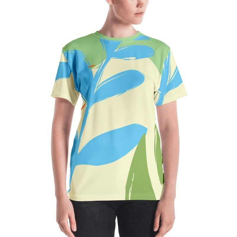 Jyi Full Printed Women's T-shirt