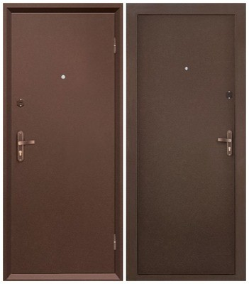 Дверь входная металл-металл