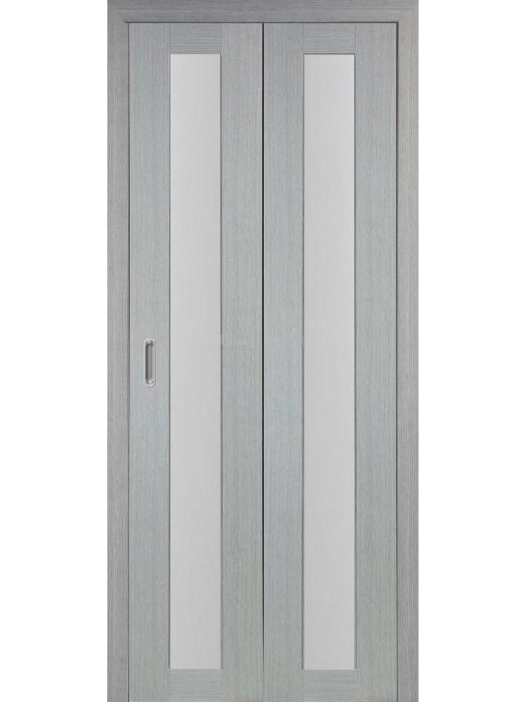 """Дверь-книжка """"Оптима Порте 501.2"""" остекленная"""