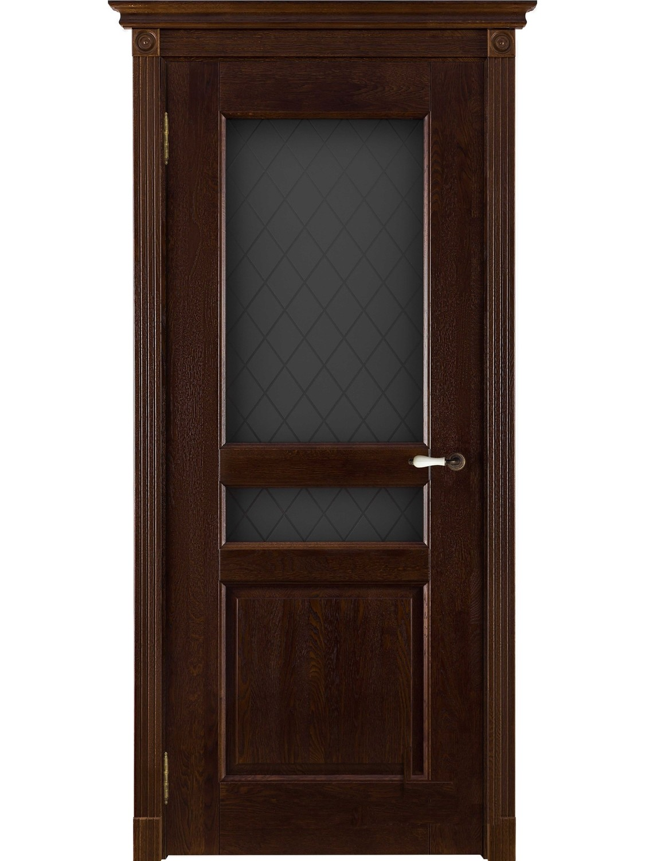 """Дверь массив дуба """"Виктория"""" (брашированная, калёвочная), """"ОКА Массив"""" (Беларусь)"""