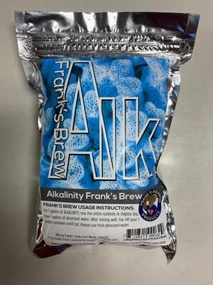 Frank's Tanks 1 gallon Alkalinity mix- Frank's Brew ( Sodium Carbonate )