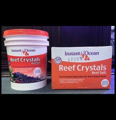 Reef Crystals Salt - IN STORE PICKUP