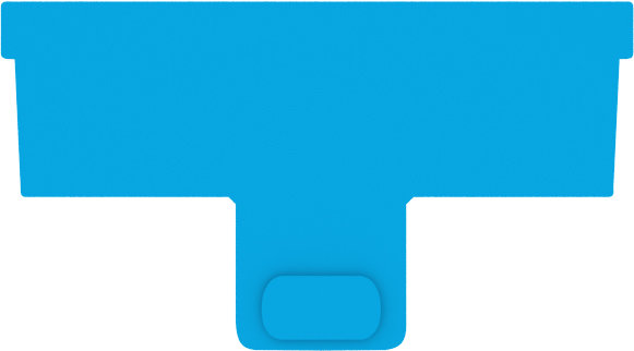 Continuum AquaBlade P Acrylic Blade 2pk
