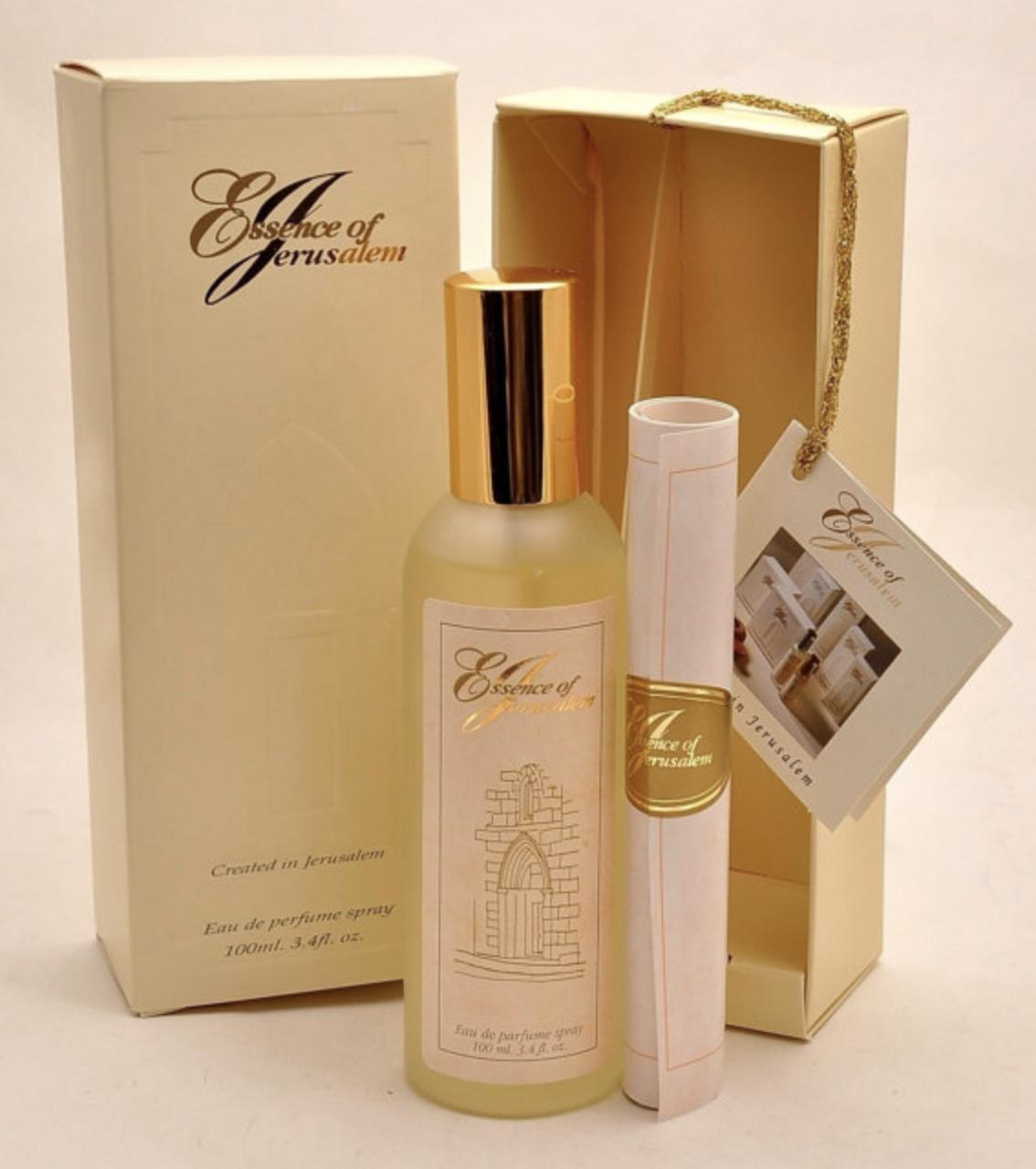Essence Of Jerusalem Eau De Parfum 100 ml. Spray ( 3.4 Oz ) Man Perfume.