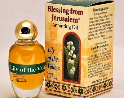 (Lily of the Valleys) Biblically Inspired Jerusalem Anointing oil - 10 ml.