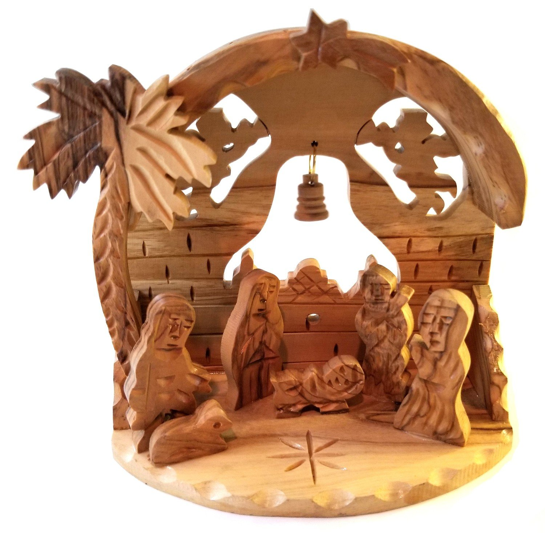 Holy Land Olive Wood Nativity