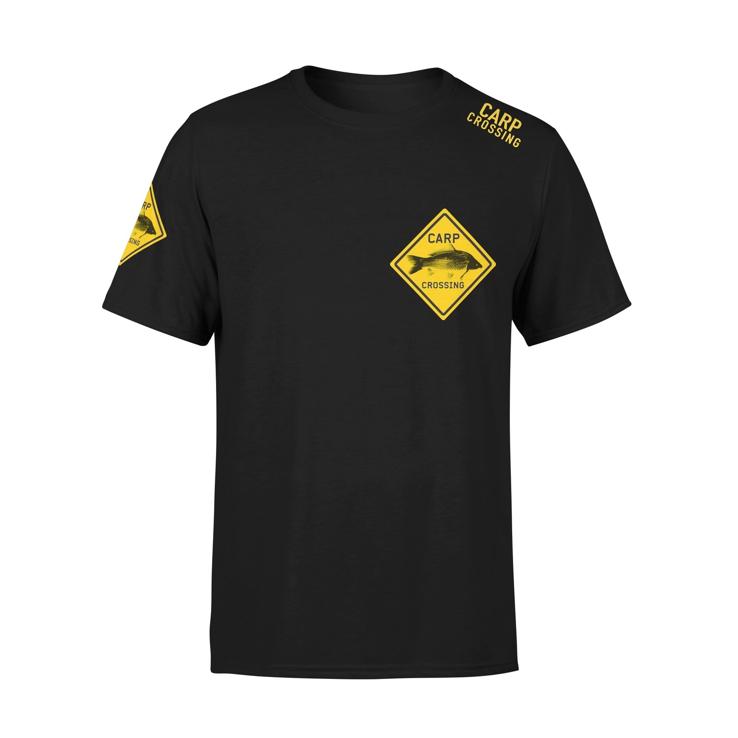 Carpcrossing Classic Carp T-shirt Black Kids