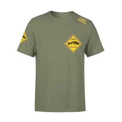 Carpcrossing Classic Carp T-shirt Green