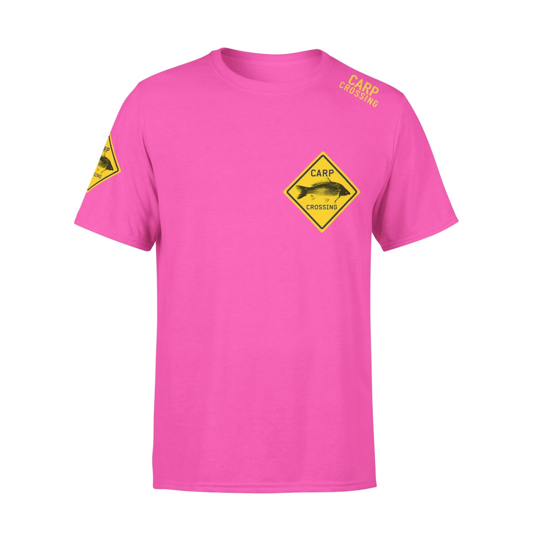 Carpcrossing Classic Carp T-shirt Pink
