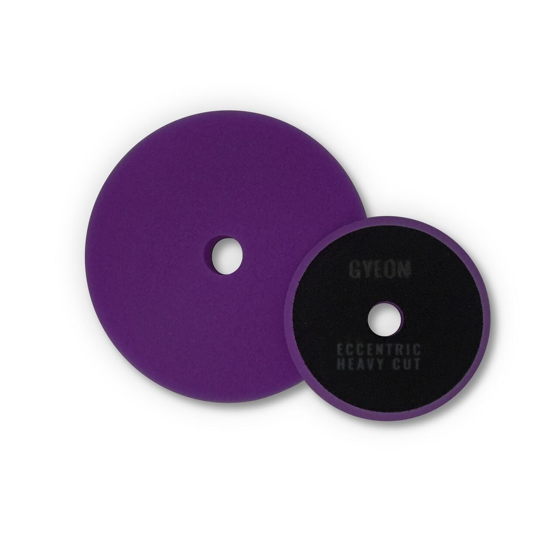 Полировальный круг Твердый GYEON ECCENTRIC HEAVY CUT Поролоновый Фиолетовый (125мм)