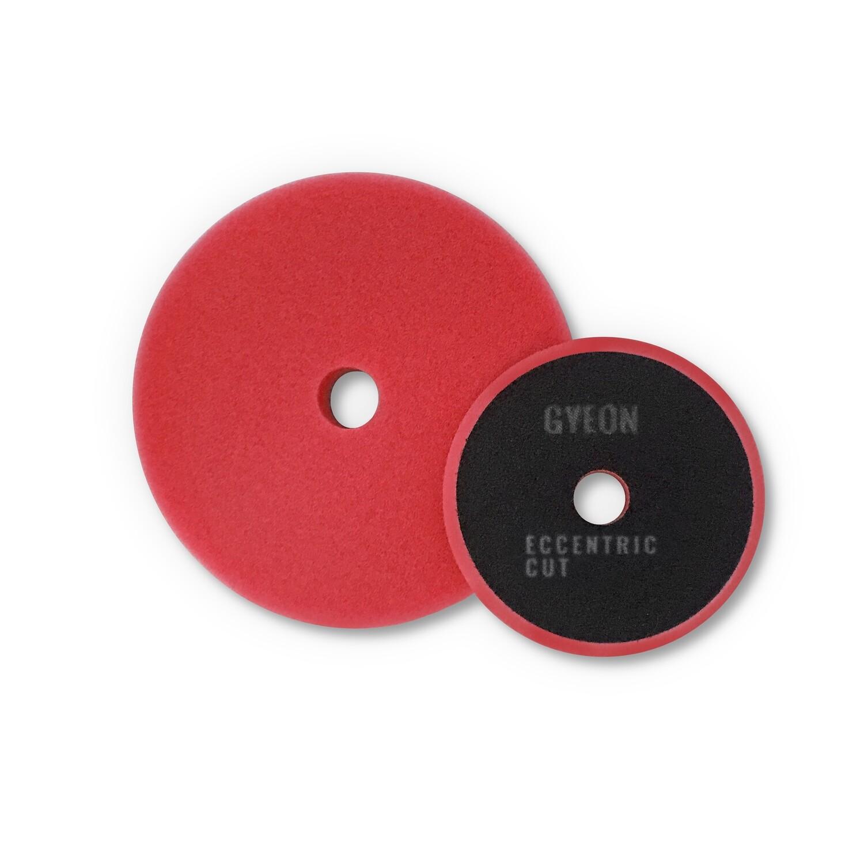 Полировальный круг Средней твердости GYEON ECCENTRIC CUT Поролоновый Красный (125мм)