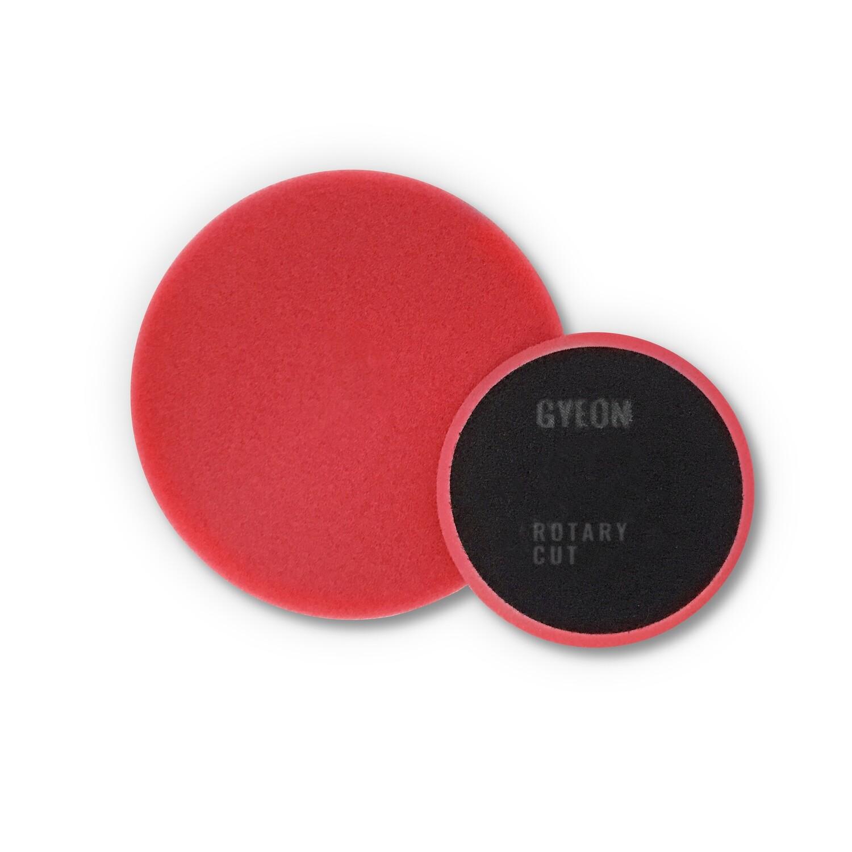 Полировальный круг Средней твердости GYEON ROTARY CUT Поролоновый Красный (125мм)