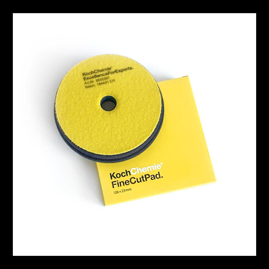Полировальный круг Средней твердости Koch Chemie FINE CUT PAD (126мм) Желтый