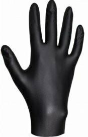 Перчатки нитриловые ультрапрочные JETA PRO Черные, размер L