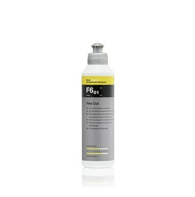 Полировальная паста Абразивная Мелкозернистая Koch Chemie F6.01 Fine Cut (250мл)