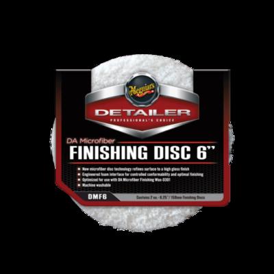 Микрофибровый Полировальный круг Финишный Meguiars FINISHING DISC 6 (159мм) Комплект (2шт)