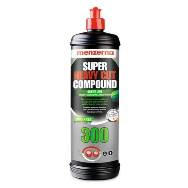Полировальная паста Высокоабразивная MENZERNA 300 GREEN LINE SUPER HEAVY CUT (1л)