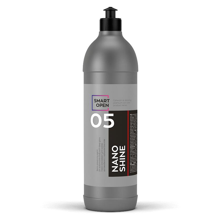 Жидкий воск Нано-консервант с глубоким блеском Smart Open 05 NANO SHINE (1л)