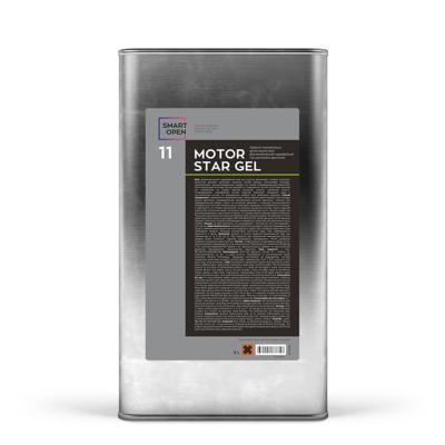 Средство для мойки двигателя Диэлектрический гидрофобный гель Smart Open 11 MOTORSTAR GEL (5л)