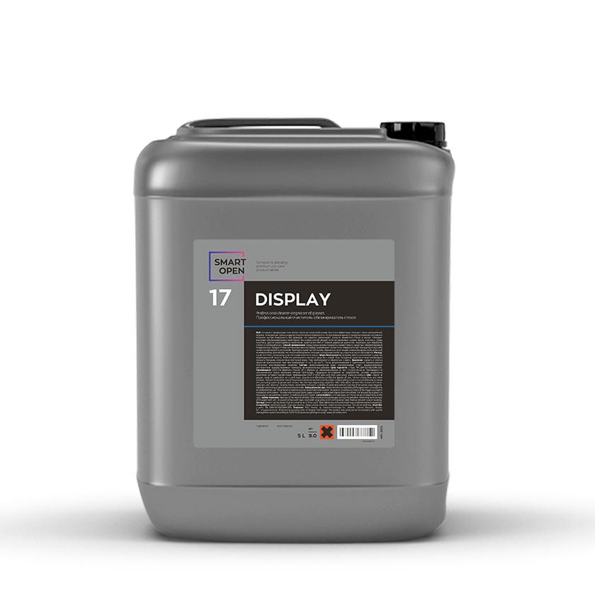 Очиститель стекол Обезжириватель с антистатиком Smart Open 17 DISPLAY (5л)
