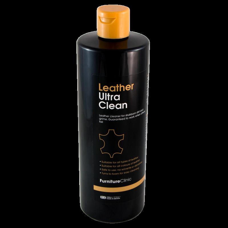 Очиститель кожи LeTech LEATHER ULTRA CLEAN (500мл)