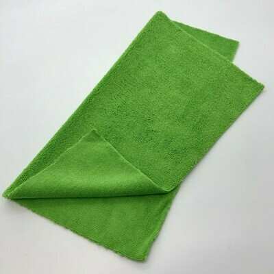 Салфетка разноворсовая бесшовная Зеленая Adolf Bucher 400гр, 40х40см
