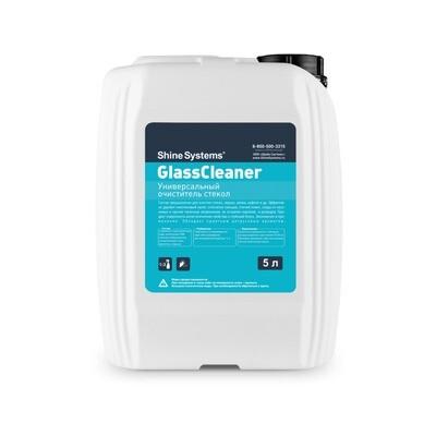 Экспресс очиститель стекол без спиртовой Shine Systems GlossyGlass, 5л