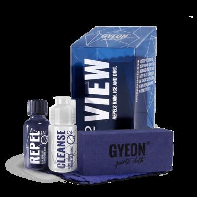 Антидождь на основе Кварца GYEON VIEW (20мл) Стойкое к спиртам покрытие до 12 мес