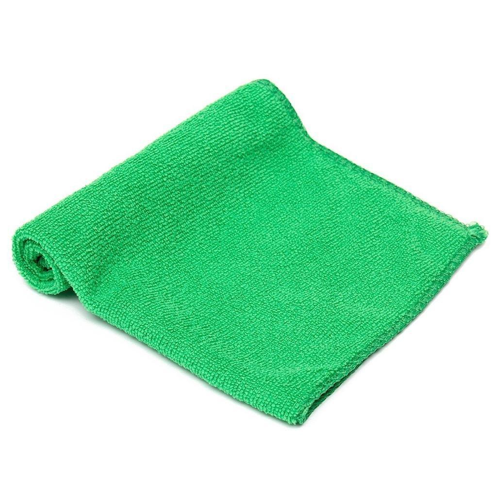 Салфетка из микрофибры JETA PRO Зеленая полировальная (40х40см)