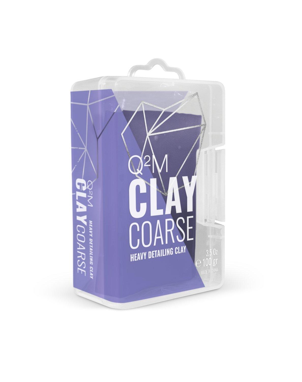 Глина высоко-абразивная для очистки кузова Высшего качества GYEON CLAY COARSE (100гр)
