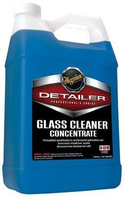 Очиститель стекол Профессиональный Деликатный Meguiars GLАSS CLEANER CONCENTRATE (3,8л), Концентрат 1:10