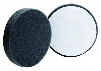 Полировальный круг плоский Очень мягкий BUFF&SHINE Финишный ЧЕРНЫЙ (130мм)