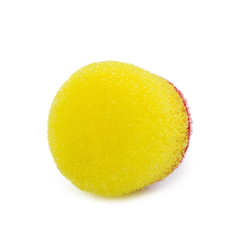 Полировальный круг Мини Твердый с открытыми порами ROYAL PADS U-NANO ULTRA CUT Желтый (30мм)