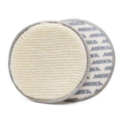 Полировальный круг для стекла из шерсти MIRKA POLISHING PUKKA PAD (150мм)