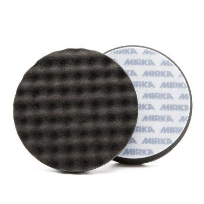 Полировальный круг Мягкий рельефный MIRKA Черный (150мм)