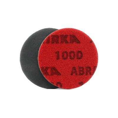 Круг шлифовальный на тканево поролоновой основе MIRKA Abralon P1000 (77мм)