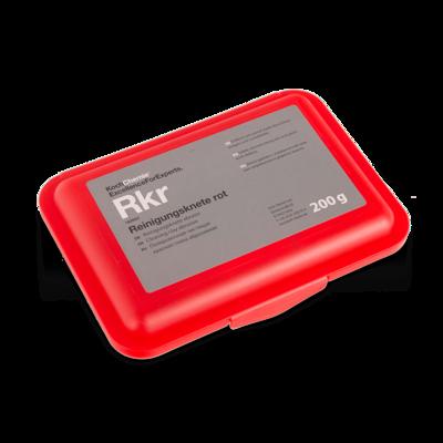 Высокоабразивная глина для очистки кузова Koch Chemie Rkr REINIGUNGSKNETE ROT (200гр) Красная