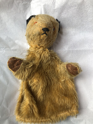 Original Sooty Puppet From Late 1950's - Very Worn And Well Loved