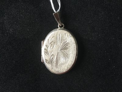Silver Locket - vintage or early 1900's