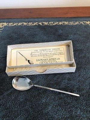 Silver Hallmarked Spoon - replica of Roman Spoon