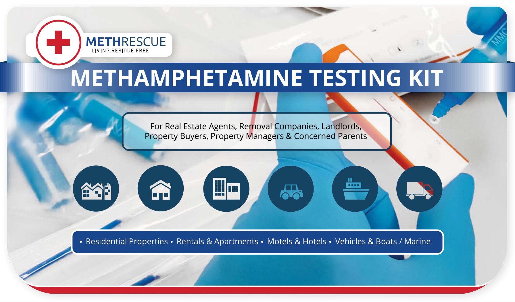 Meth Rescue Testing Kit (10 Tests) MTHRES10
