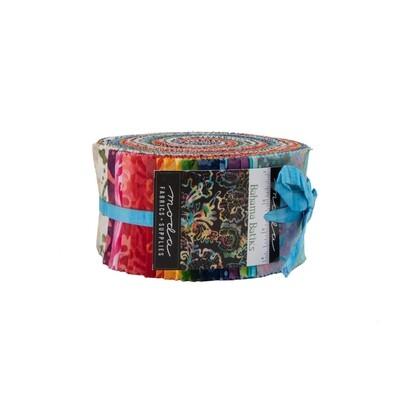 Bahamas Batiks Jelly Roll