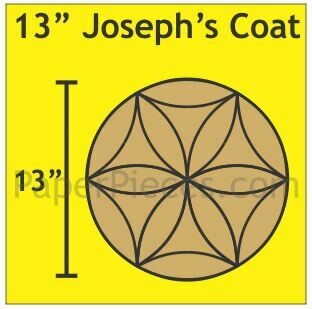 Josephs Coat 13 inch 1 blokk