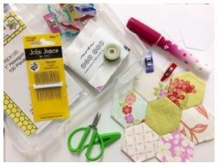 Start Kit English Paper Piecing